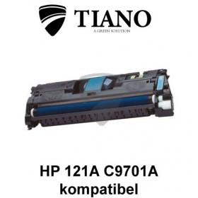 HP 121A C9701A/ 122A Q3961A cyan printerpatron (kompatibel)