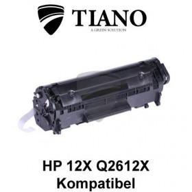 HP 12X Q2612X / CANON CRT-703 sort printerpatron (kompatibel)