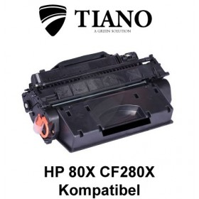 HP 80X CF280X sort printerpatron (kompatibel)