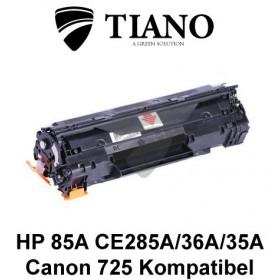HP 85A CE285A/CB435A/CB436A / CANON CRG-725 sort printerpatron(kompatibel)