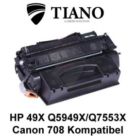 HP 49X Q5949X/Q7553X/CANON CRT-708H sort printerpatron (kompatibel)