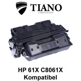 HP 61X C8061X sort printerpatron (kompatibel)