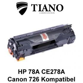 HP 78A CE278A / CANON CRG-726 sort printerpatron (kompatibel)