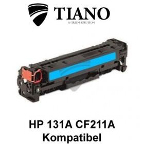 HP 131A CF211A cyan printerpatron  (kompatibel)