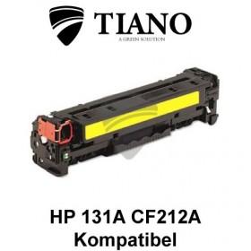 HP 131A CF212A gul printerpatron  (kompatibel)