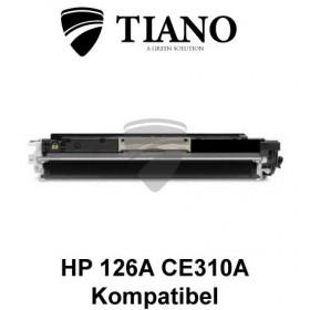 HP 126A CE310A / Canon 729BK sort printerpatron (kompatibel)