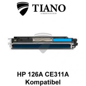 HP 126A CE311A / Canon 729C cyan printerpatron (kompatibel)