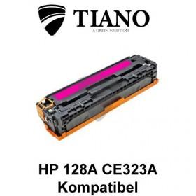 HP 128A CE323A magenta printerpatron (kompatibel)