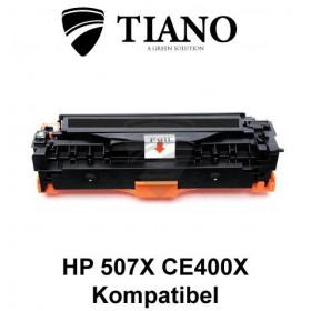 HP 507A CE400X sort printerpatron (kompatibel)