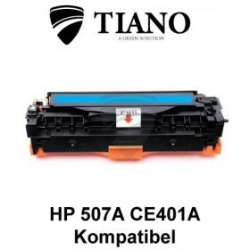 HP 507A CE401A cyan printerpatron (kompatibel)