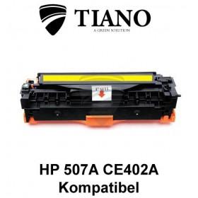 HP 507A CE402A gul printerpatron (kompatibel)