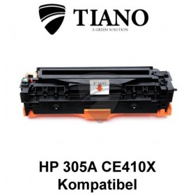 HP 305X CE410X sort printerpatron (kompatibel)