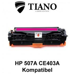 HP 507A CE403A magenta printerpatron (kompatibel)