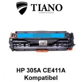 HP 305A CE411A cyan printerpatron (kompatibel)