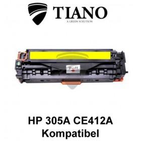 HP 305A CE412A gul printerpatron (kompatibel)