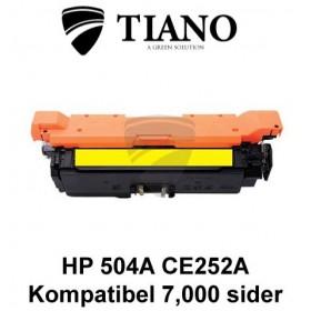 HP 504A CE252A gul printerpatron (kompatibel)