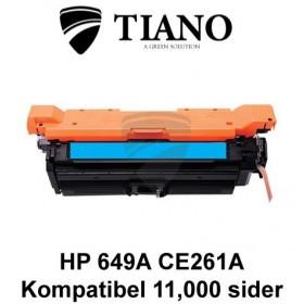 HP 649A CE261A cyan printerpatron (kompatibel)