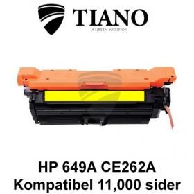 HP 649A CE262A gul printerpatron (kompatibel)
