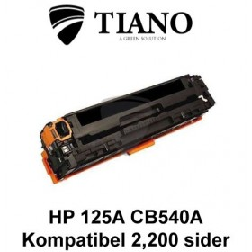 HP 125A CB540A /Canon 716BK sort printerpatron (kompatibel)