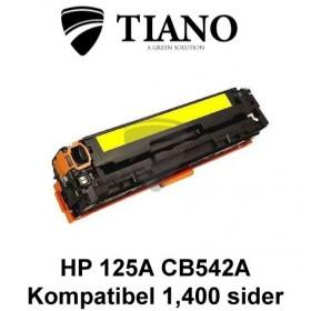 HP 125A CB542A /Canon 716Y gul printerpatron (kompatibel)