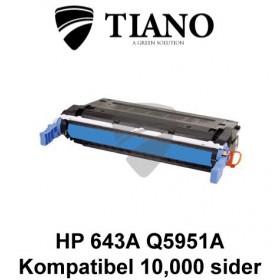 HP 643A Q5951A cyan printerpatron (kompatibel)