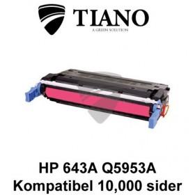 HP 643A Q5953A magenta printerpatron (kompatibel)