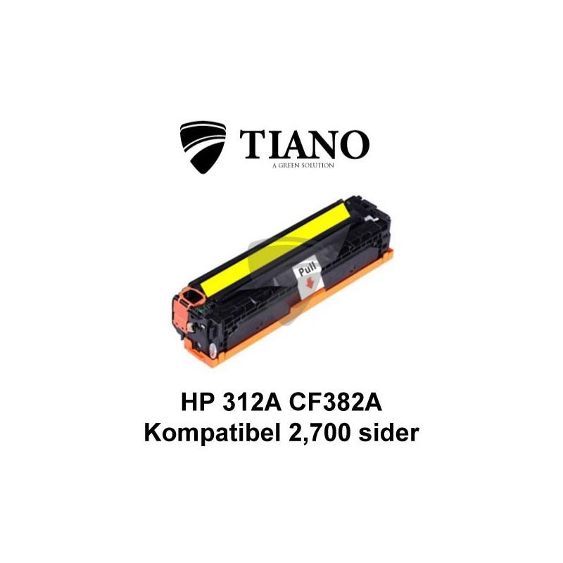 HP 312A CF382A gul printerpatron (kompatibel)
