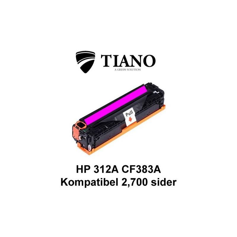 HP 312A CF383A magenta printerpatron (kompatibel)