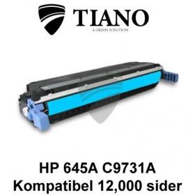 HP 645A C9731A cyan printerpatron (kompatibel)