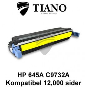 HP 645A C9732A gul printerpatron (kompatibel)