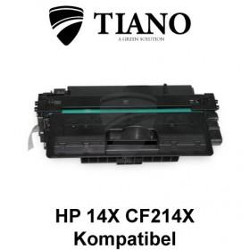 HP 14X CF214X sort printerpatron (kompatibel)