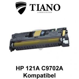 HP 121A C9702A/ 122A Q3962A gul printerpatron (kompatibel)