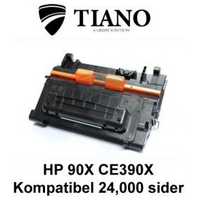 HP 90X CE390X sort printerpatron (kompatibel)