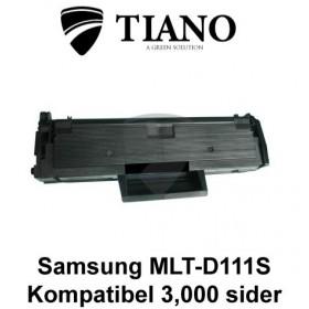Samsung MLT-D111S sort printerpatron (kompatibel)