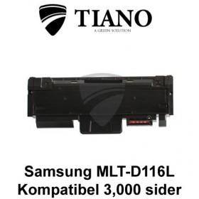 Samsung MLT-D116L sort printerpatron (kompatibel)