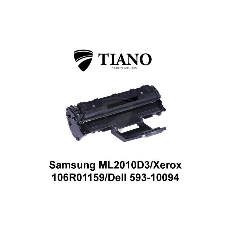 Samsung ML-2010D3 / Xerox 106R01159 sort printerpatron (kompatibel)