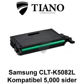 Samsung CLT-K5082L sort printerpatron (kompatibel)