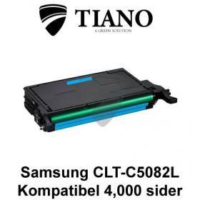 Samsung CLT-C5082L cyan printerpatron (kompatibel)