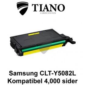 Samsung CLT-Y5082L gul printerpatron (kompatibel)