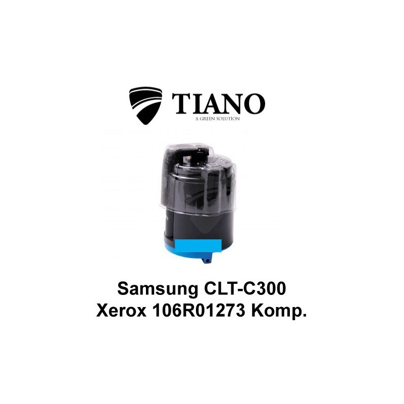 Samsung CLP-C300 / Xerox 106R01273 cyan printerpatron (kompatibel)