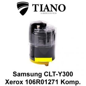 Samsung CLP-Y300 / Xerox 106R01271 gul printerpatron (kompatibel)