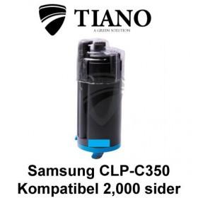 Samsung CLP-C350 cyan printerpatron (kompatibel)