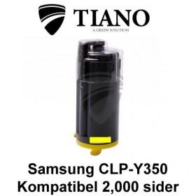 Samsung CLP-Y350 gul printerpatron (kompatibel)