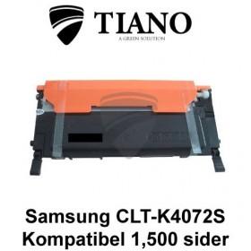 Samsung CLT-K4072S sort printerpatron  (kompatibel)