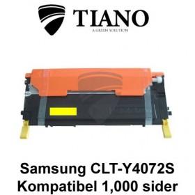 Samsung CLT-Y4072S gul printerpatron (kompatibel)