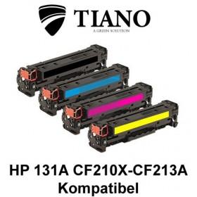 HP 131A CF210X - CF213A Multipakke BK+C+M+Y 4 stk