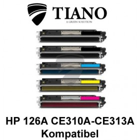 HP 126A CE310A - CE313A Mega pakke 2xBK+C+M+Y 5 stk