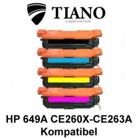 HP 649A CE260X - CE263A Multipakke BK+C+M+Y 4 stk