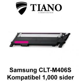Samsung CLT-M406S magenta printerpatron (kompatibel)