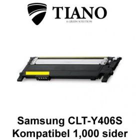 Samsung CLT-Y406S gul printerpatron (kompatibel)